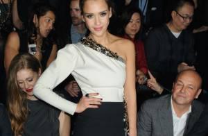 Fashion Week : Jessica Alba renversante et pluie de VIP pour célébrer Lanvin