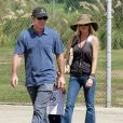 Dennis Quaid et sa femme Kimberly en septembre 2010