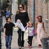 Angelina Jolie : promenade déjantée avec sa petite tribu