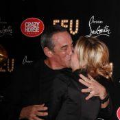 Thierry Ardisson et Audrey Crespo-Mara amoureux comme deux ados pour Louboutin