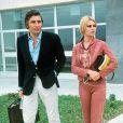 Gunter Sachs et Brigitte Bardot, à Munich, le 14 juillet 1966.