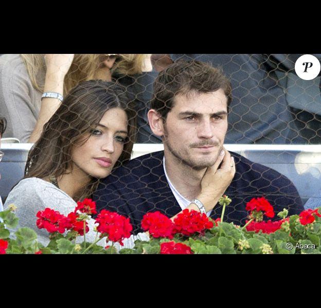 Sara Carbonero et Iker Casillas le 8 mai 2011 à Madrid