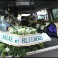 Les obsèques de Jean Giraud alias Moebius à Paris, le 15 mars 2012.