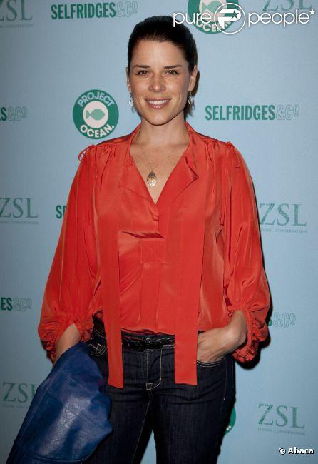 Neve Campbell en mai 2011 à Londres