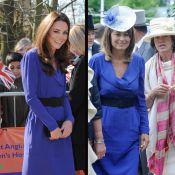 Kate Middleton glamour dans la robe de sa mère Carole pour son premier discours