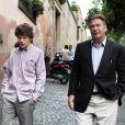 Jesse Eisenberg et Alec Baldwin dans  To Rome With Love , en salles le 4 juillet.