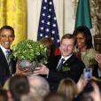 Le président Barack Obama et le Premier ministre irlandais Enda Kenny, le 20 mars 2012 à Washington.