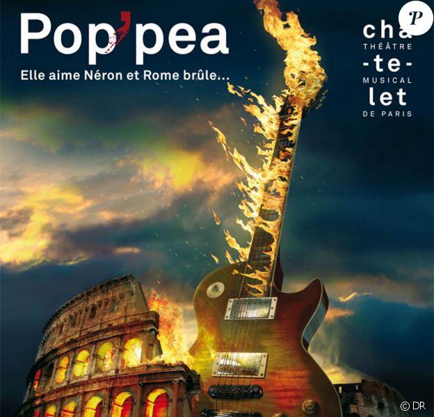 L'affiche de Pop'pea, relecture video-pop/opéra rock de l'opéra Le Couronnement de Poppée de Monteverdi, a été dévoilée le 20 mars 2012. Au Théâtre du Châtelet du 29 mai au 7 juin 2012.