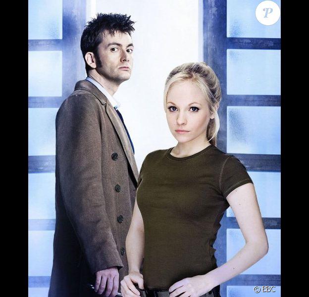 David Tennant et sa femme Georgia Moffett se sont rencontrés sur un épisode de Doctor Who.