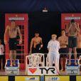 Fred Bousquet et Alain Bernard, les deux grands perdants... Les championnats de France de natation de Dunkerque, qualificatifs pour les Jeux olympiques de Londres comme le laissent deviner les cabines téléphoniques en déco, ont été riches en sensations, en mars 2012.