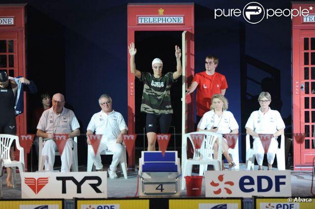 Laure Manaudou a réussi son pari et ira à Londres. Les championnats de France de natation de Dunkerque, qualificatifs pour les Jeux olympiques de Londres comme le laissent deviner les cabines téléphoniques en déco, ont été riches en sensations, en mars 2012.