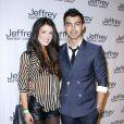 Shenae Grimes et Joe Jonas à la soirée de charité Jeffrey Fashion Cares 2012, à New York le 26 mars 2012
