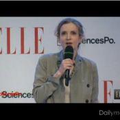 Nathalie Kosciusko-Morizet huée après le désistement de Sarkozy à Sciences-Po