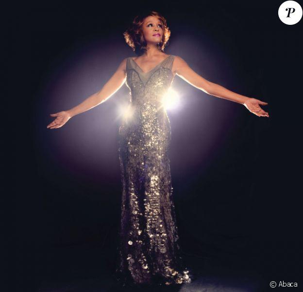 Whitney Houston en 2009 pour la pochette de l'un de ses albums
