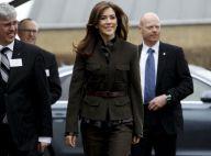 Princesse Mary : Le lieutenant de charme du Danemark en mission et en kaki