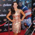 Karina Smirnoff le 11 avril 2012 lors de la première de The Avengers à Los Angeles