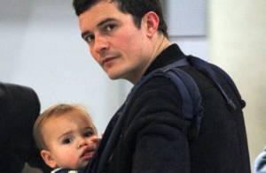 Orlando Bloom : Escapade avec son fils qui lui permet de se muscler !