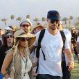 Fergie et Josh Duhamel, stylés lors du Jour 2 du Festival de Coachella. Indio, le 14 avril 2012.