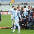 Piermario Morosini est décédé à 25 ans d'une crise cardiaque lors du match entre Pescara et Livourne le 14 avril 2012 à Pescara