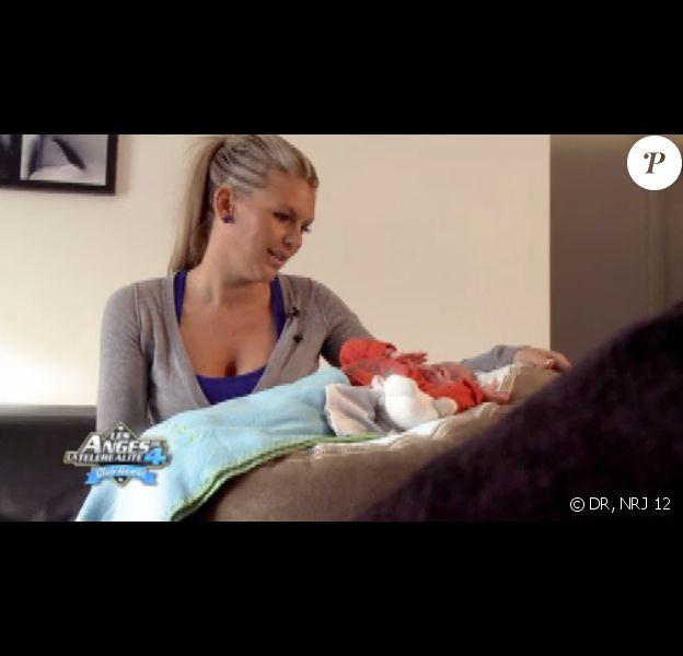 Amélie et Hugo dans les Anges de la télé-réalité 4, sur NRJ 12, lundi 16 avril 2012