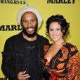 Ziggy Marley et sa femme Orly Agai à la première du film Marley à Los Angeles le 17 avril 2012