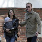 Jennifer Connelly : Promenade complice avec Paul Bettany et leur adorable Agnès