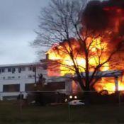 Dirty Dancing : Incendie dans l'hôtel, théâtre des exploits de Patrick Swayze