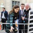 La princesse Mary lors de la Journée de la recherche 2012 à Copenhague, le 19 avril.