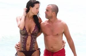 Arnaud Lagardère et Jade Foret, enceinte : Ils baignent dans la passion à Miami