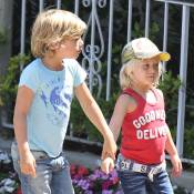Gwen Stefani: Ses fils Kingston et Zuma visiblement fans de Spider-man et Batman