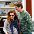 Alyson Hannigan et son mari Alexis Denisof à Los Angeles, le 25 avril 2012.