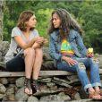 Elizabeth Olsen et Jane Fonda dans  Peace, Love & Misunderstanding .
