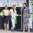 La princesse Mary arrive à l'Opéra de Copenhague, le 3 mai 2012, pour inaugurer le Sommet de la mode 2012, dont elle est la marraine.