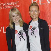 Olivia Wilde et Emma Stone : Réveil matinal pour une marche sportive délirante !