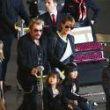 Johnny Hallyday de retour à Paris en famille : Direction The Voice et la tournée