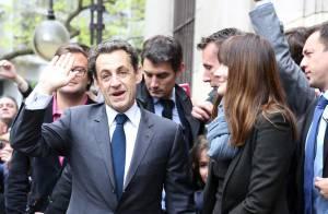 Second tour : Nicolas Sarkozy et Carla, François Hollande et Valérie ont voté !