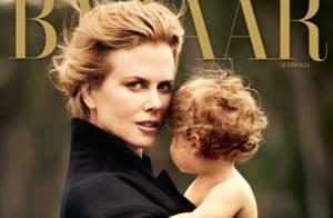 Nicole Kidman et sa petite Faith : sublime duo mère-fille sur papier glacé