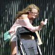 Jamie Lynn Spears se promène à West Hollywood avec sa fille Maddie, trois ans et demi, le dimanche 6 mai .