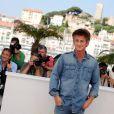 Sean Penn lors du festival de Cannes 2011, lors du photocall du film This Must Be The Place