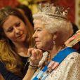 Le musée Madame Tussauds de Londres a dévoilé le 14 mai 2012 la 23e statue de cire de la reine Elizabeth II, dix ans après la précédente, en l'honneur de son jubilé de diamant.