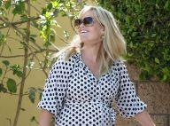 Reese Witherspoon : Très enceinte, elle parade en affichant son gros ventre