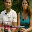Frédéric et Jessica dans Pékin Express - Le Passager Mystère sur M6 le mercredi 16 mai 2012