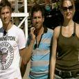 Ludovic, Samuel et Sandrine Corman dans Pékin Express - Le Passager Mystère sur M6 le mercredi 16 mai 2012