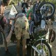 Accident de Stéphane Rotenberg dans Pékin Express - Le Passager Mystère le mercredi 16 mai 2012 sur M6