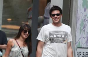Lea Michele et Cory Monteith : Shopping en amoureux à New York