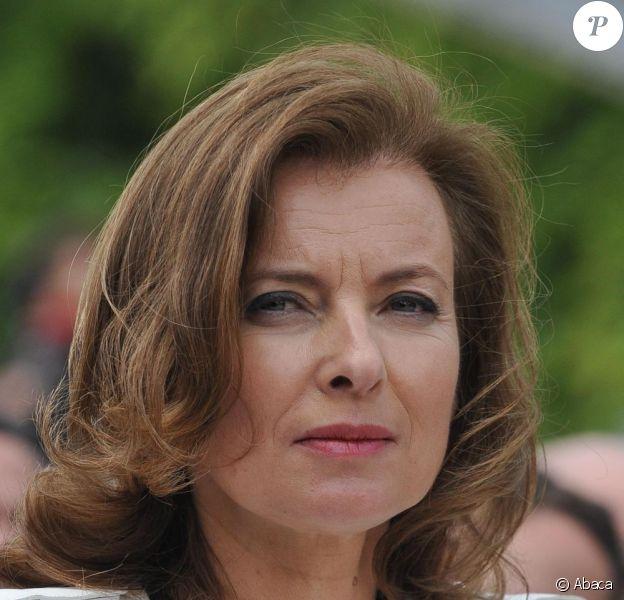 Valérie Trierweiler, le jour de la passation de pouvoir, à Paris, le 15 mai 2012.