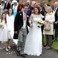 Camilla Hook, amie de Pippa Middleton, et Sam Holland, rescapé du tsunami de Sumatra et petit-fils du réalisateur oscarisé Lord Richard Attenborough, ont célébré leur mariage le 19 mai 2012 à Aberlady, près d'Edimbourg (Ecosse).