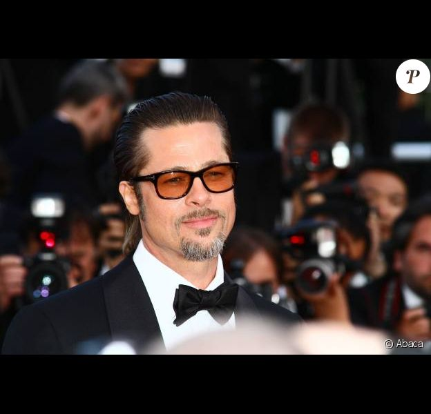 Brad Pitt au festival de Cannes 2011
