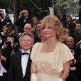 Nastassja Kinski et Roman Polanski sur le tapis rouge avant la projection du film  Tess  dans le cadre de Cannes Classics, le 21 mai 2012.
