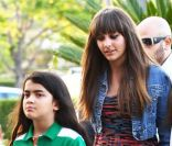 Blanket et Paris Jackson en Californie le 19 mai 2012